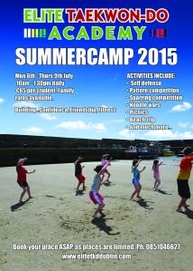 Summer camp flyer copy